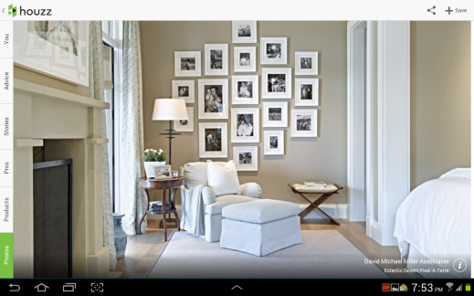 Gallery wall wht frames