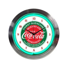 Clock - Coke