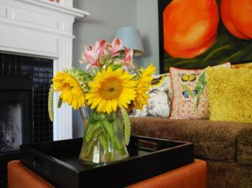 Sunflower floral-arrangement