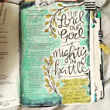 the Lord our God is mighty in battle