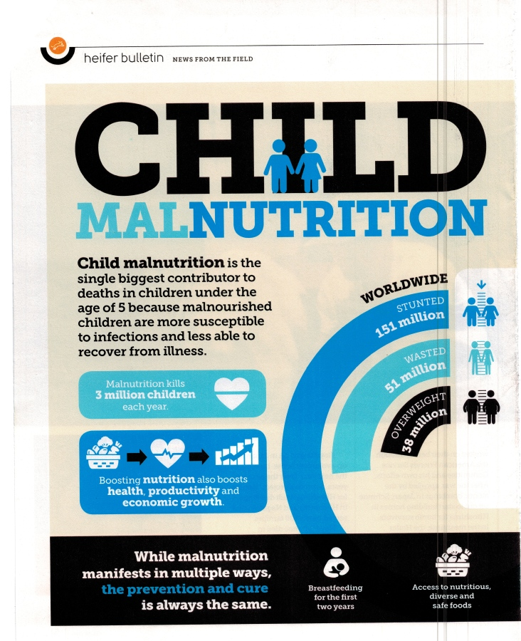 Child Malnutrition – Feed the World ~ 11.29.18